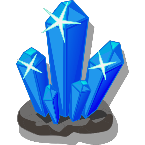 Crystals PNG icons