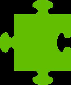 Blue Green Puzzle PNG Clip art