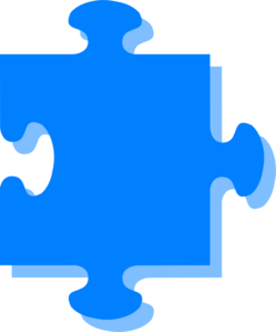 Green N Blue Puzzle PNG Clip art