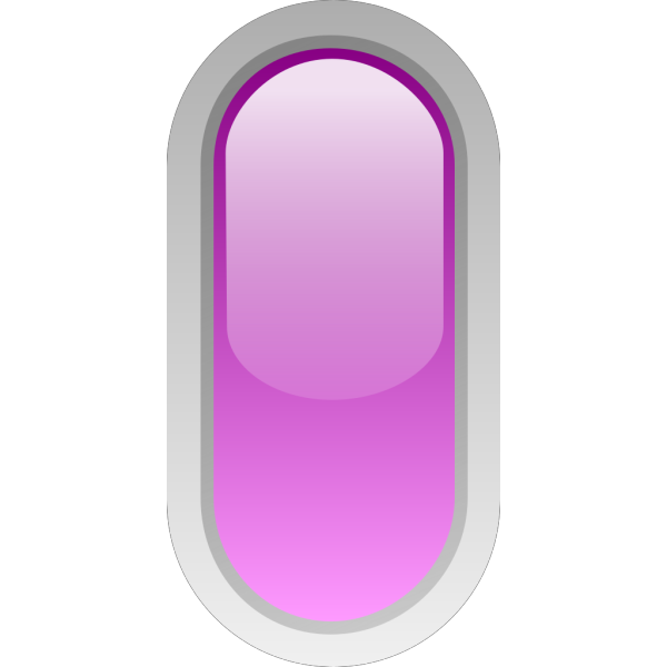 Led Rounded V Purple PNG Clip art