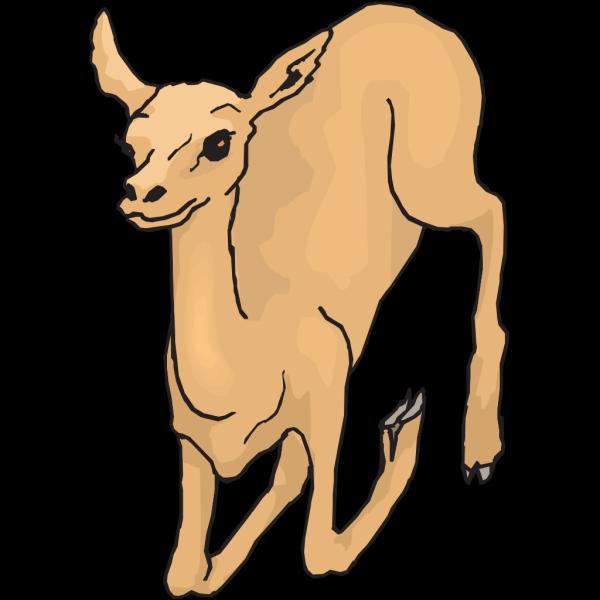 Leaping Deer PNG Clip art