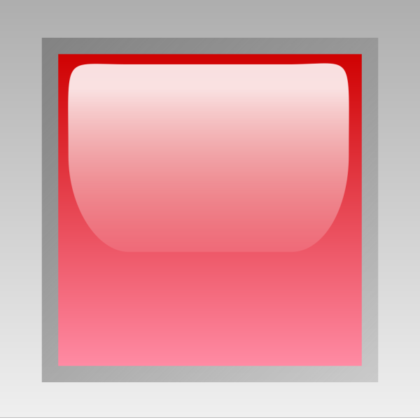 Led Square Red PNG Clip art