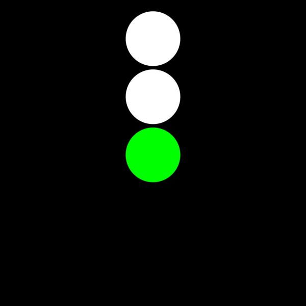 Traffic Semaphore Green Light PNG Clip art