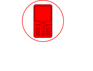Nokia Cell Phone Blue Screen PNG images