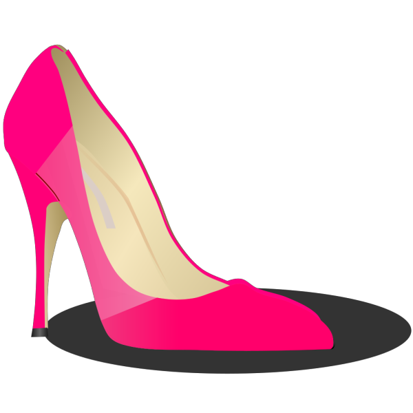 Blue High Heel PNG images