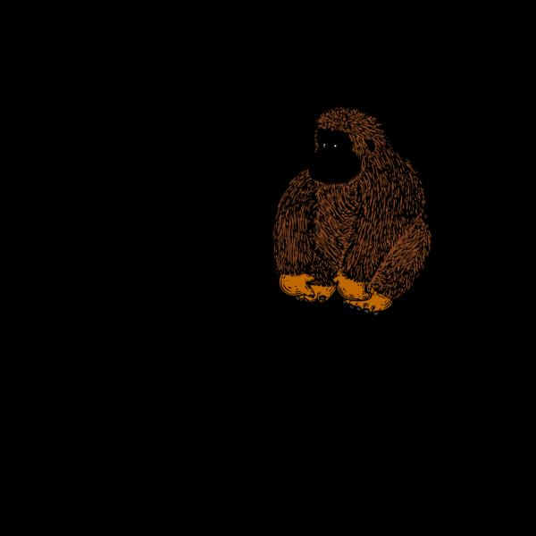 Gorilla PNG Clip art