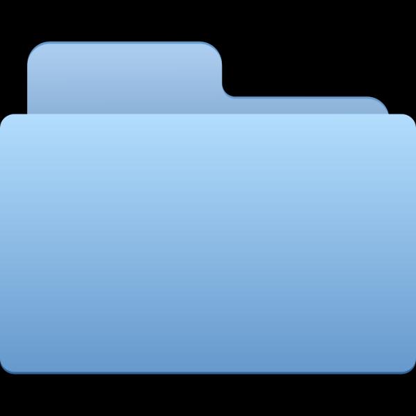 Blue Folders PNG Clip art