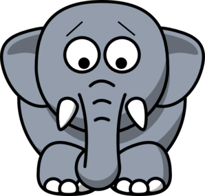 Cartoon Elephant PNG images