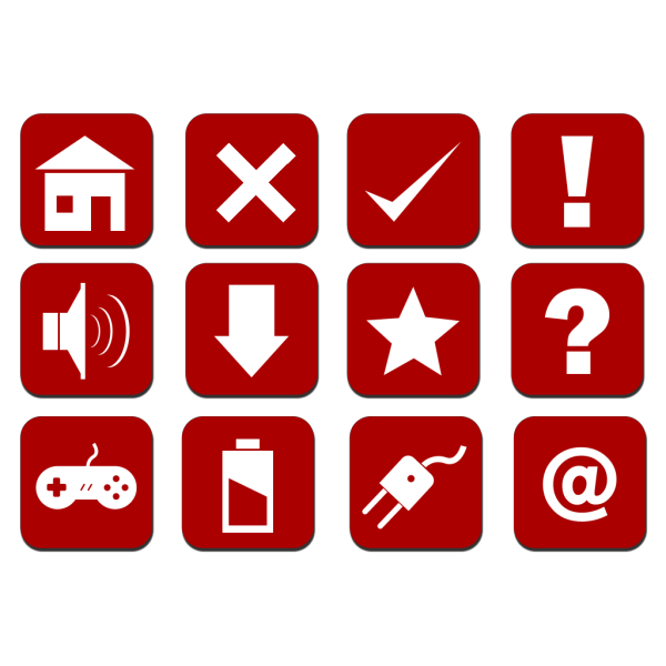 Icons Web PNG Clip art