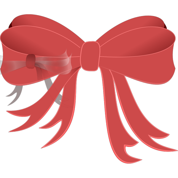 Brown Bow Ribbon PNG Clip art