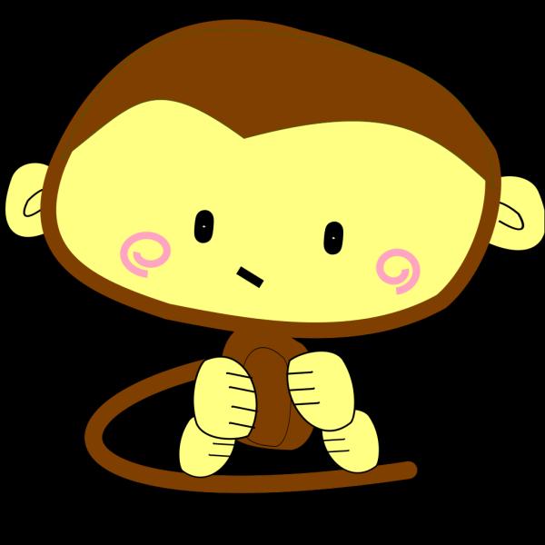 Brown Monkey PNG Clip art