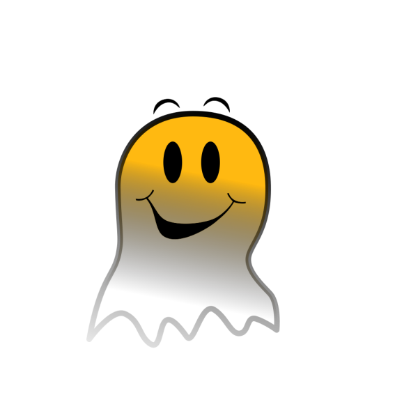 Ghost Smiley PNG images