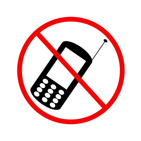 No Cellphone PNG images