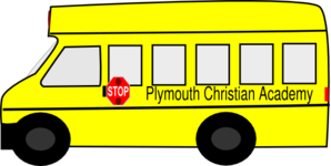 Old School Bus PNG Clip art