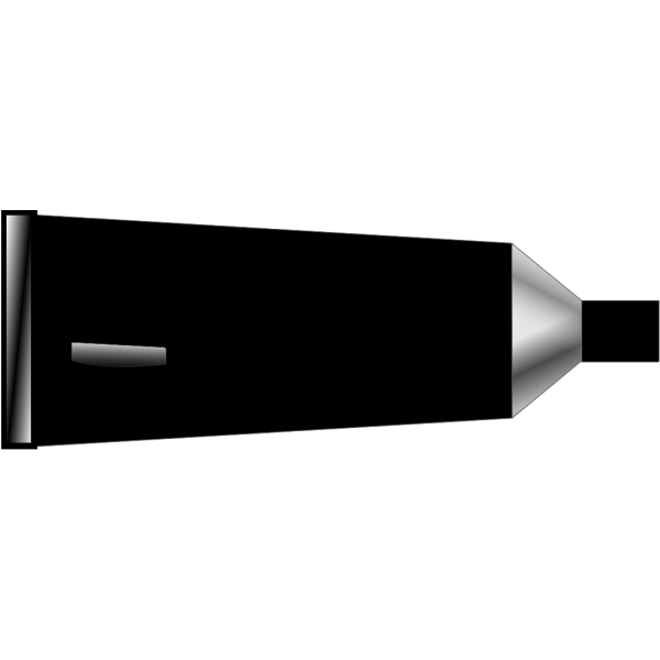 Color Tube Black PNG Clip art