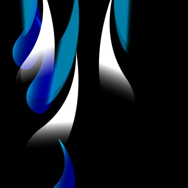 Large Blue Drops PNG images