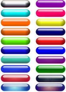Glossy Pill Buttons clipart