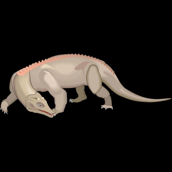 Protosuchus PNG Clip art