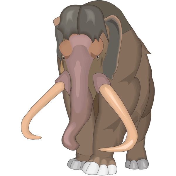 Mammuthus Primigenius PNG Clip art