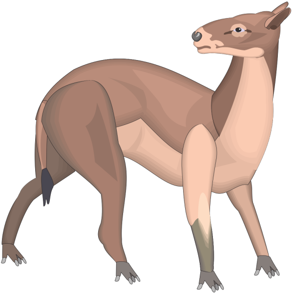 Hyracotherium PNG Clip art