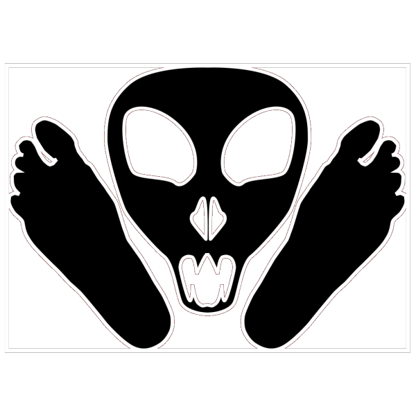 Alien Feet PNG images