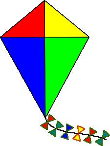 Kite Outline PNG Clip art