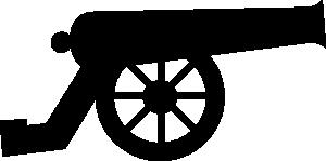 Blue Cannon PNG Clip art