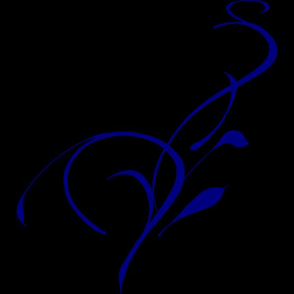 Blue Vine Grass PNG Clip art