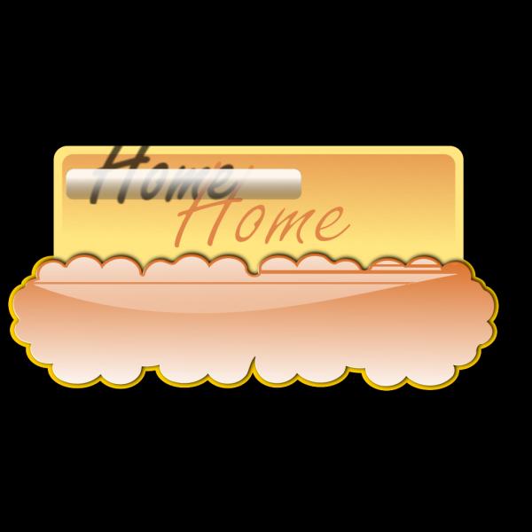 Cloud Button PNG Clip art