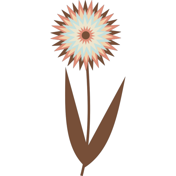 Chocolate Flower PNG Clip art