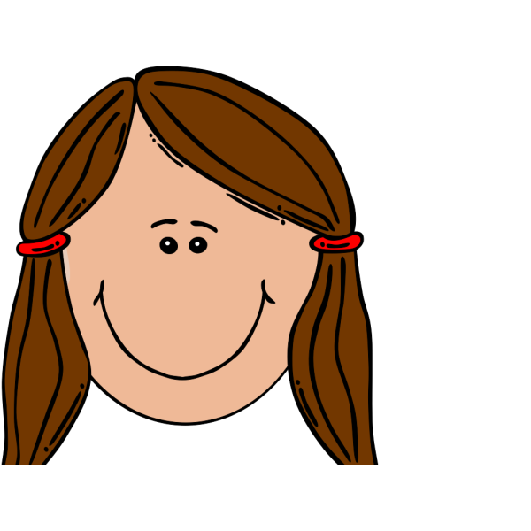 Brown Girl clipart
