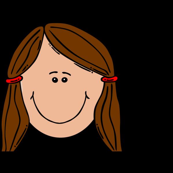Brown Girl Clip art