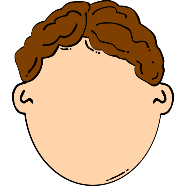 Brown Hair Boy PNG Clip art
