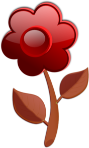 Brown Flower PNG Clip art
