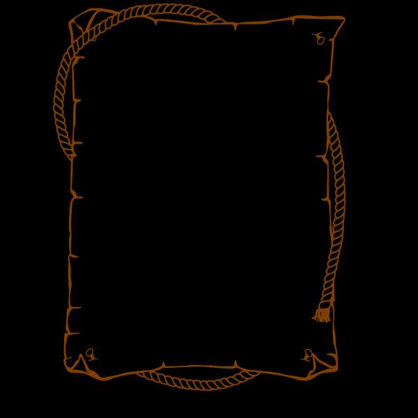 Brown Border Clip art
