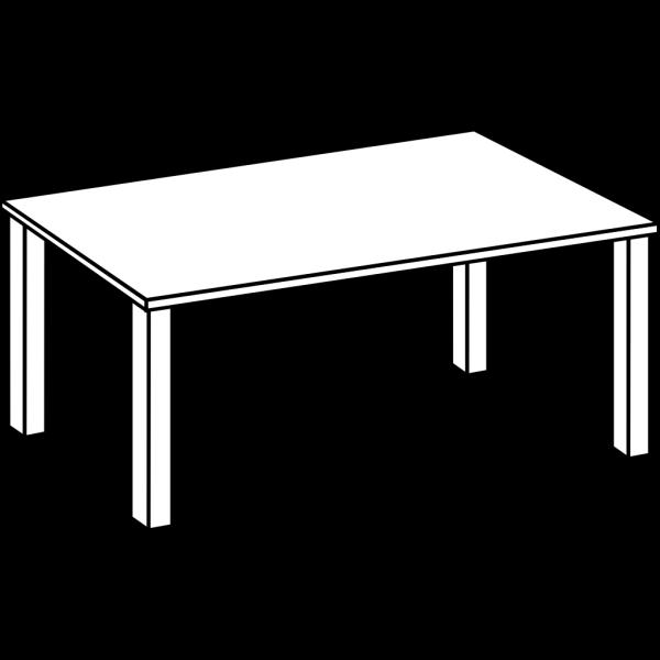 Table Line Art Clip art