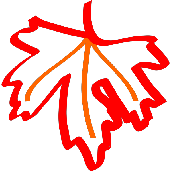 Leaf Outline PNG icon