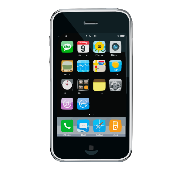 Iphone Home Button PNG Clip art