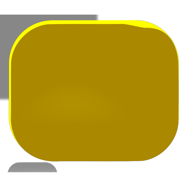 Gold Round Button PNG Clip art