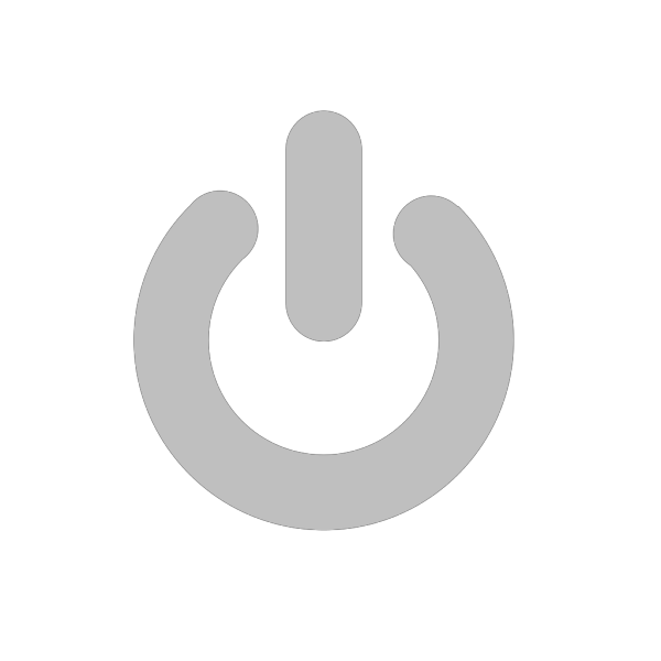 Power Grey PNG Clip art