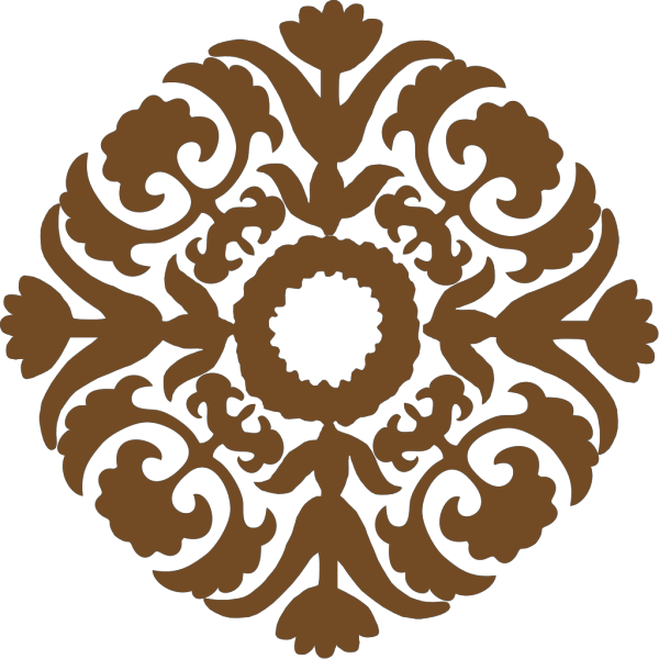 Brown Diamond Flower PNG images
