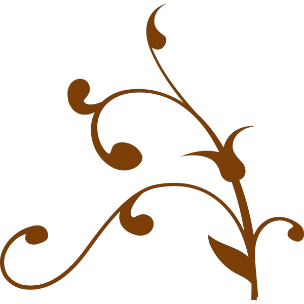 Brown Twisted Branch PNG Clip art