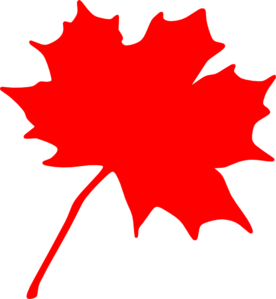 Maple Leaf Outline PNG images