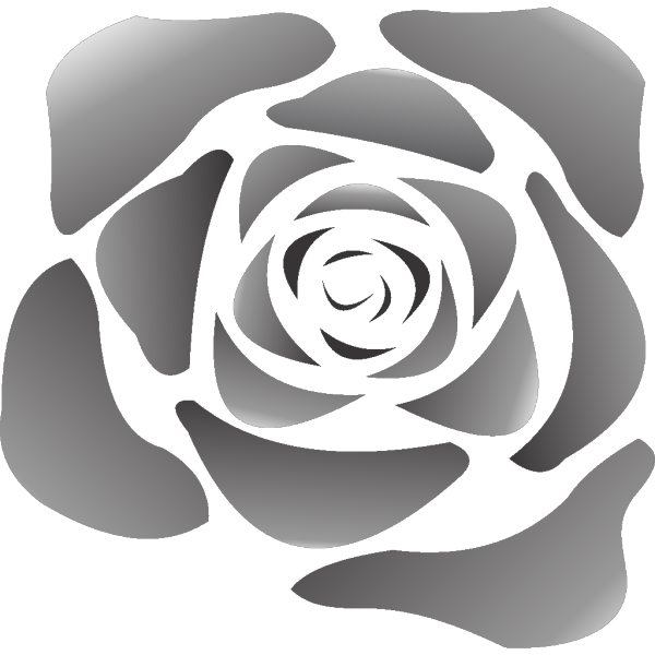 Black Rose PNG icons