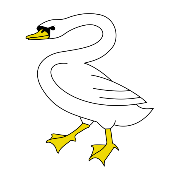 Swan PNG images