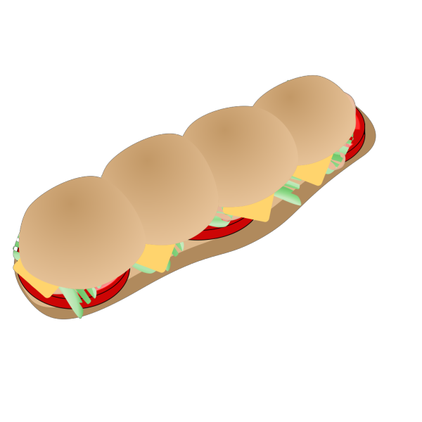 Submarine Sandwich PNG images