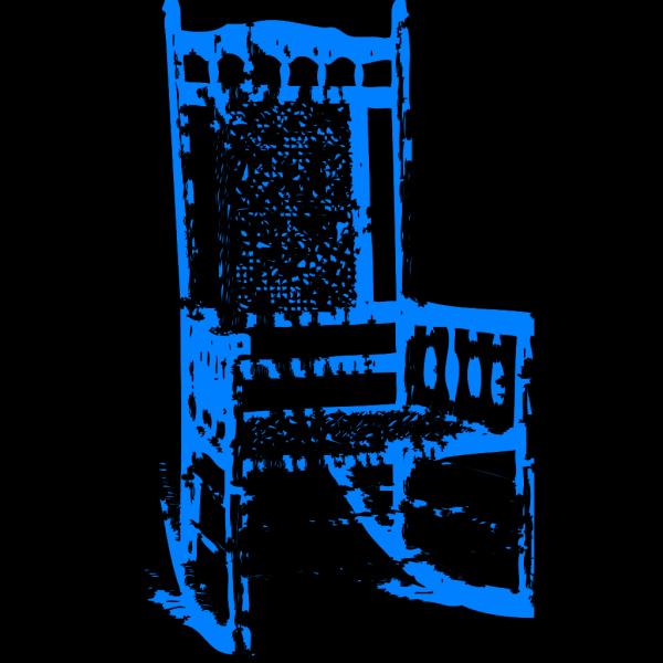 Blue Rocker PNG Clip art