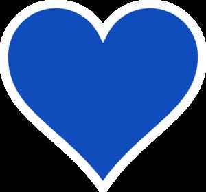 Blue Heart PNG Clip art
