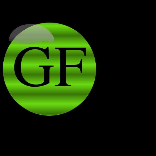 Gluten Free Button PNG Clip art