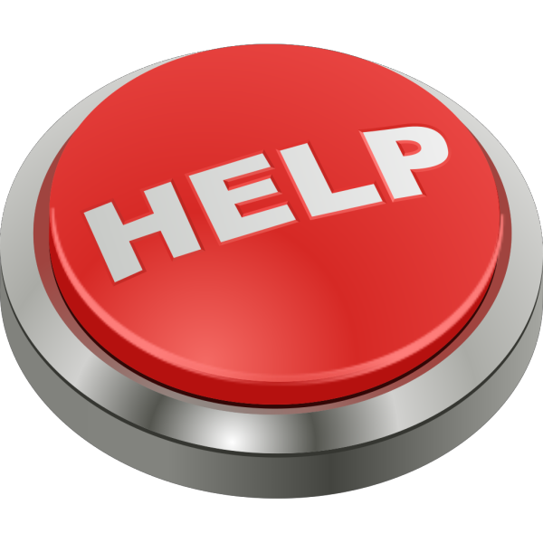 Help Button 1 PNG Clip art